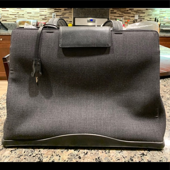 Prada Handbags - Prada Canvas Shoulder Bag